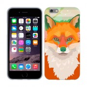 Husa iPhone 6 Plus sau iPhone 6S Plus Silicon Gel Tpu Model Desen Vulpe