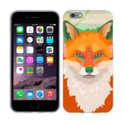 Husa iPhone 6 Plus sau iPhone 6S Plus Silicon Gel Tpu Model Desen Vulpe