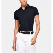Under Armour Women's UA Zinger Short Sleeve Polo Black LG