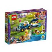 Set de constructie LEGO Friends Vehiculul cu remorca al Stephaniei