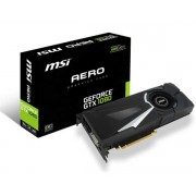 VGA MSI GTX 1080 Aero OC 8G, nVidia GeForce GTX 1080, 8GB 256-bit GDDR5, do 1771MHz, DP 3x, DVI-D, HDMI, 36mj