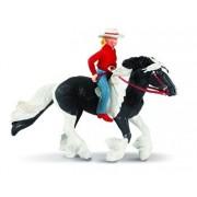 Safari, Set figurine Audrey si calul Streaming Light