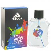 Adidas Team Five Eau De Toilette Spray 3.4 oz / 100.55 mL Men's Fragrance 516990
