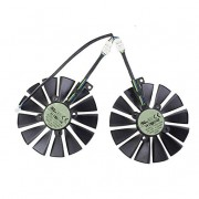 T129215SM 12V 0.25A 95MM Graphics Card Cooler Fan For ASUS STRIX-RX470-O4G-GAMING RX570 RX580 GTX1050Ti GTX1070Ti GTX1080Ti (2 Pcs/lot)