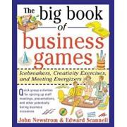 The Big Book of Business Games: Icebreakers, Creativity Exercises and Meeting Energizers, Paperback/John W. Newstrom