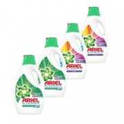 Pachet promo 4 x Detergent lichid Ariel Mountain Spring and Color 40 spalari 2.2L