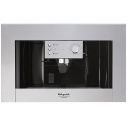 Espressor cafea incorporabila Hotpoint Ariston CM 5038 IX, 15 bari, semiautomat, sistem de spumare, rezervor 1.5 litri, inox