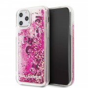 Apple Karl Lagerfeld Apple iPhone 11 Pro Rose Gold Backcover hoesje Glitter