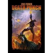 zászló Five Finger Death Puncs - Battle Of The God - HFL1147