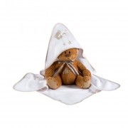 Prosop de baie cu gluga -Star Dream - beige