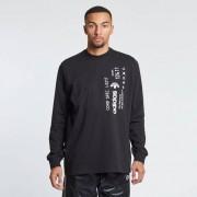 Adidas graphic long sleeve shirt Black