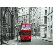 London Bus, Photo Murale, 160 X 115 Cm, 1 Part - Enfants