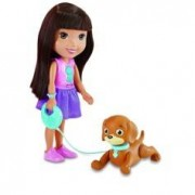 Fisher Price Dora l'exploratrice et son chiot savant
