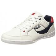 Fila Men's Baker II White / Navy / Red Sneakers - 7 UK/India (41 EU)