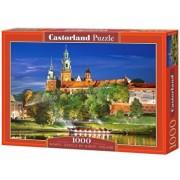 Puzzle Castelul Wawel noaptea - Polonia, 1000 piese