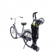 Happy Baby Stroller Carrier for Bicycle Buggy-Mee Black Metal