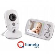 LIONELO baby video monitor BabyLine 6.1, senzor temp, 8 uspavanki, domet 300m