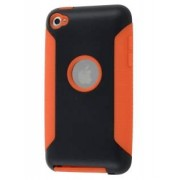 iPod Touch 4 Impact Case - Apple Impact Case (Orange/Classic Black)