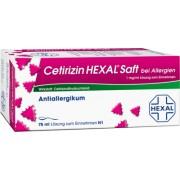 Hexal AG CETIRIZIN HEXAL Saft bei Allergien 75 ml