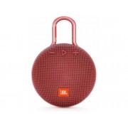 JBL Minialtavoz portátil Bluetooth JBL CLIP3 Rojo