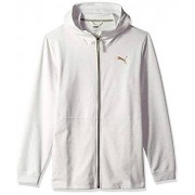 PUMA Energy Desert Chamarra con Cierre Completa para Hombre, Whisper White Heather, Medium