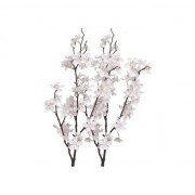 Bellatio flowers & plants 2x Appelbloesem kunstbloemen tak 84 cm