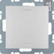 BERKER - 75441383 - Sensor KNX CO2, Tª e humid., S/B, alu mt 25