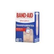 Curativos Transparentes Band-Aid 40 Unidades