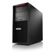 ThinkStation P520c Intel® Xeon® W W-2225 16 Go DDR4-SDRAM 512 Go SSD Tower Noir Station de travail Windows 10 Pro for Workstatio