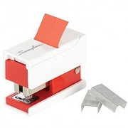 Swingline Mini Stapler with Flags 12 Sheets 20 Flags Assorted Colors - Color May Vary (S7087895)