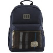 Harissons Rustic Backpack(Blue, 21 L)