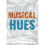 Musical Hues: Abstract Colour-By-Music Adventures, Paperback/Nicola Cantan