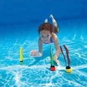EDTara Underwater Toy Grab Dive Seaweed Swimming Pool Water Diving Toy Outdoor Sport Swim Toys for Kids 3 Pcs