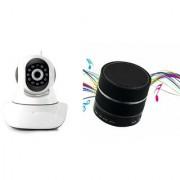 Zemini Wifi CCTV Camera and S10 Bluetooth Speaker for LG OPTIMUS L7(Wifi CCTV Camera with night vision |S10 Bluetooth Speaker)