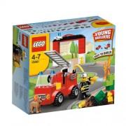 Lego Bricks and More My First Fire Station Building Set