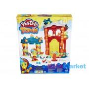 Hasbro Play-Doh: Town - Tűzoltóság gyurmakészlet (B3415)