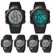 Men Watch Waterproof Men's Boy LCD Digital Stopwatch Date Rubber Sport Wrist Watch Fashion & Casual High Qulity Free Shipping M1