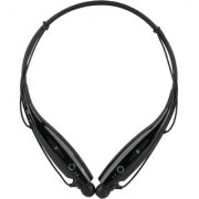 Mettle Neckband Bluetooth Wireless Sport Stereo Headset with Microphone for all Smartphones ( Black)