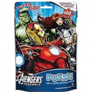 Marvel Avengers Puzzle On The Go In Resealable Bag 100 Pcs (15X11.25 In)