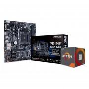 Tarjeta madre AMD A320 + Microprocesador Ryzen 3