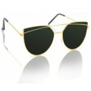 Knotyy Shield Sunglasses(Green)