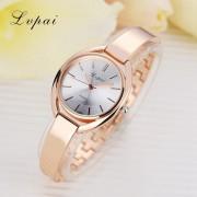 Lvpai Brand Fashion Women Dress Watch Gold Silver Stainless Steel High Quality Female Quartz watches Lady Wristwatch