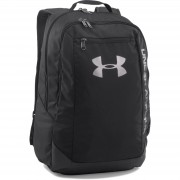 Under Armour Hustle Backpack - Black/Silver