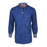 Spazio Armada Long Sleeved Shirt Navy 1-1865
