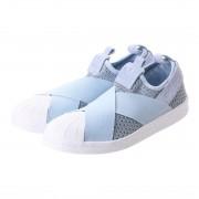【SALE 10%OFF】アディダス adidas atmos ADIDAS SUPERSTAR SLIPON W (BLUE) レディース