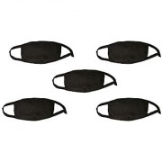 Pack of 5 Anti Pollution Smart Smog Mask Air Protector Prevent Pollutents