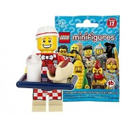 Lego (LEGO) Mini Figure Series 17 Hot Dog Shop Unopened Items | LEGO Minifigures Series 17 Hot Dog Man ?71018-6?