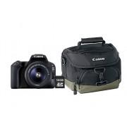 Canon Kit Cámara Réflex CANON EOS 200D+EF-S 18-55DC+FU (24.2 MP - ISO: 100 a 25 600 - Sensor: APS-C)