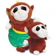 Maimuta de plus Zoo Podlings Keel Toys,18 cm, 3 ani+