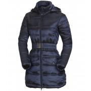 NORTHFINDER PRIJANA Dámský kabát EXTRA SIZE BU-46841SP298 tmavě modrá L
